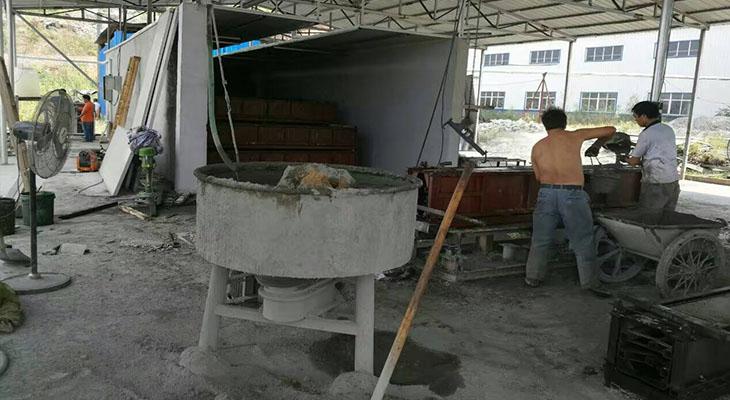 水泥预制构件生产